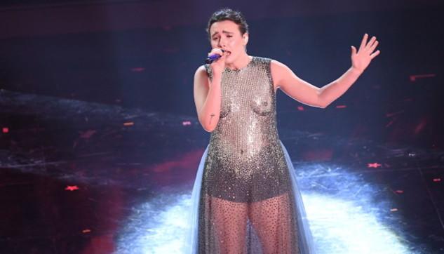 Madame sul palco di Sanremo