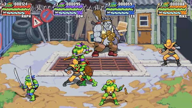 Teenage Mutant Ninja Turtles: Shredder's Revenge, le prime immagini
