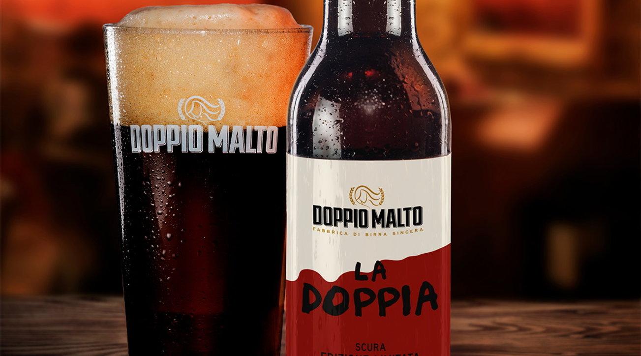 """""""La Doppia"""" di Doppio Malto"""