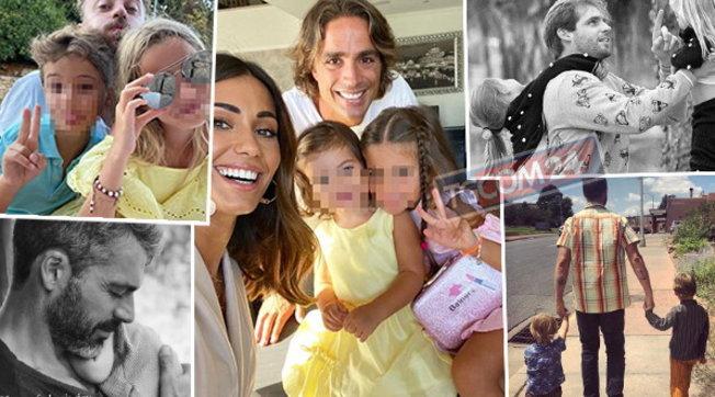Festa del papà, ecco una carrellata di famosi con i figli
