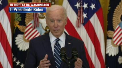 """Utilice, Biden: """"Pandemia del desafío global, señales de recuperación de la economía Pero hay mucho más por hacer"""""""