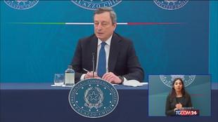 Draghi: reciprocità sui vaccini, l'Ue ora ha più strumenti