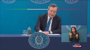 Draghi: Regioni seguano il piano sulle categorie da vaccinare per prime