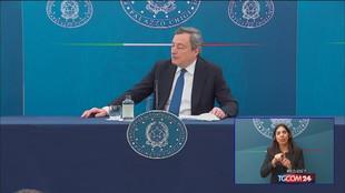 Draghi: vaccino Sputnik? Attendere l'ok dell'Ema
