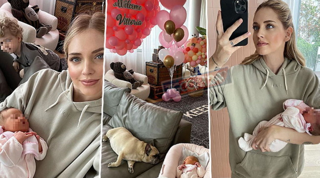 Una valanga di vestitini, culle e passeggini per Baby V, la Ferragni li dona alle mamme bisognose