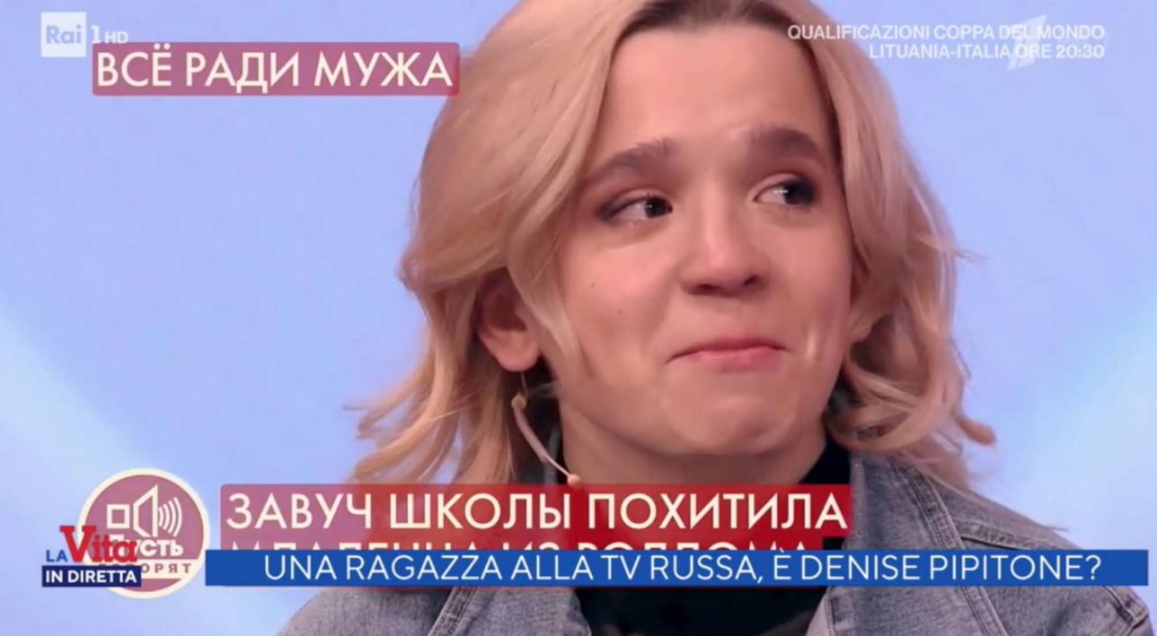 Caso Denise Pipitone, Olesya Rostovain tv per cercare i suoi genitori biologici