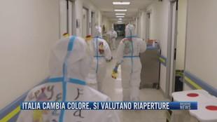Breaking News delle 23.00 | Italia cambia colore, si valutano riaperture