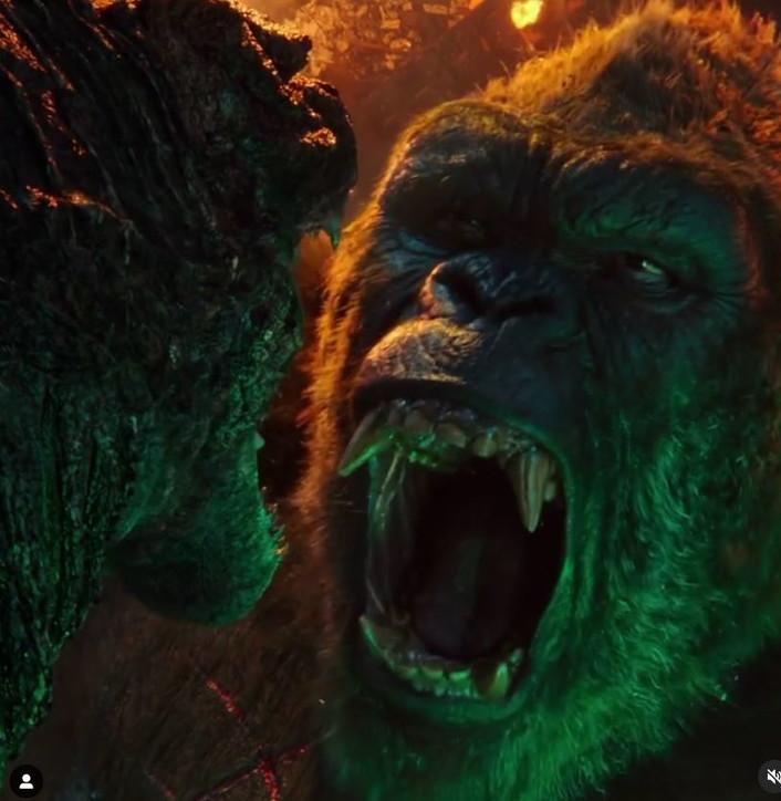 """""""Godzilla vs Kong"""", guarda alcuni scatti del film"""