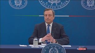 """Draghi: """"Su Golden power sono d'accordo con Giorgetti"""""""