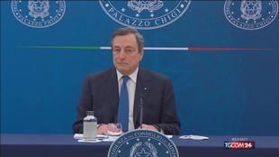 """Draghi: """"Pass vaccinale per far arrivare turisti dall'estero"""""""