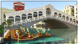 Venezia diventa una mappa di Minecraft