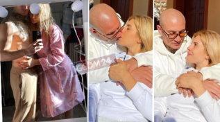 Paola Caruso innamorata persa tra le braccia di Dario Socci