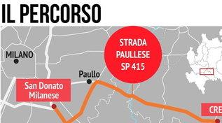 Crema, il percorso di Sy sullo scuolabus: voleva fare una strage sulla pista di Linate