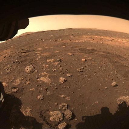 Marte: el helicóptero creativo de la NASA hace girar hélices por primera vez
