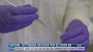 Breaking News delle 17.00 | Vaccini settimana decisiva per gli over 80