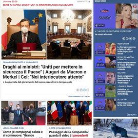 Tgcom24 è il sito di informazione più letto in Italia