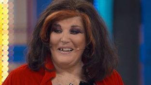 """L'incidente di Patrizia De Blanck: """"Mi è cascato un dente"""""""