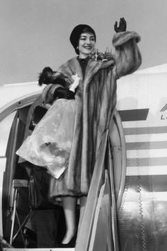 Maria Callas, guarda gli scatti della sua vita