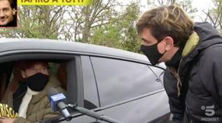 """""""Striscia la Notizia"""", tapiro d'oro a Francesco Totti"""