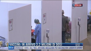 Breaking News delle 14.00 | Vaccini: in arrivo 2,2 milioni di dosi