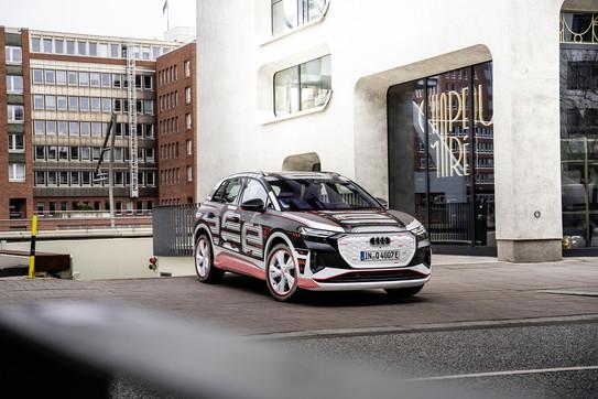 Audi Q4 E-Tron in anteprima alLive a Milano