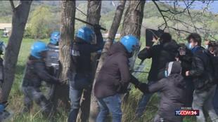Piemonte, scontri polizia no Tav