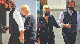Ivana Trump e Rossano Rubicondi ancora insieme tra tira e molla