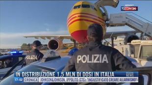 Breaking News delle 17.00 | In distribuzione 1,5 mln di dosi in Italia
