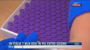 Breaking News delle 18.00 | In Italia 7 mln di dosi in più entro giugno