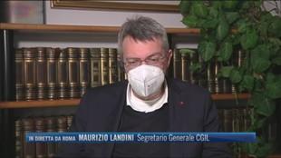 """Alitalia, Maurizio Landini (Segretario Cgil): """"Non bisogna accettare diktat europei"""""""