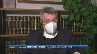"""Operaio Arcelor Mittal licenziato, Maurizio Landini (Segretario Cgil): """"Abbiamo chiesto che il lavoratore venga reintegrato"""""""