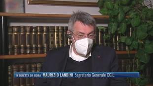 """Vitalizi, Maurizio Landini (Segretario Cgil): """"Bisogna riformare i costi della politica"""""""