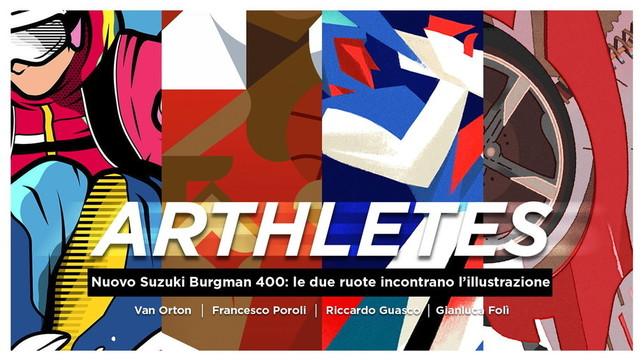 Suzuki Burgman pronto per l'Olimpiade