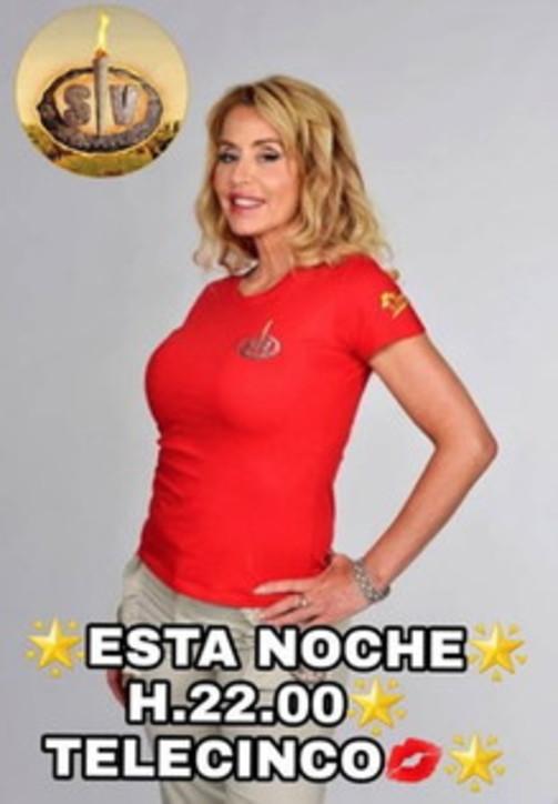 "Valeria Marini protagonista della tv spagnola con ""Supervivientes"""