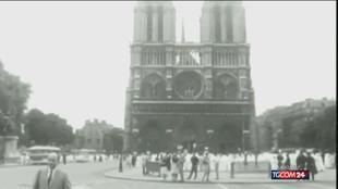 Parigi, due anni fa l'incendio di Notre-Dame