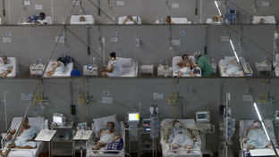 In Brasile anche le palestre trasformate in terapie intensive