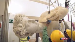 La copia del David di Michelangelo vola a Dubai
