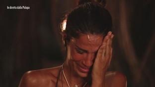 Francesco Lodo in lacrime per il videomessaggio della mamma