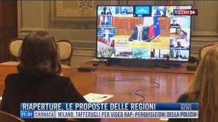 Breaking News delle 11.00 | Riaperture, le proposte delle regioni