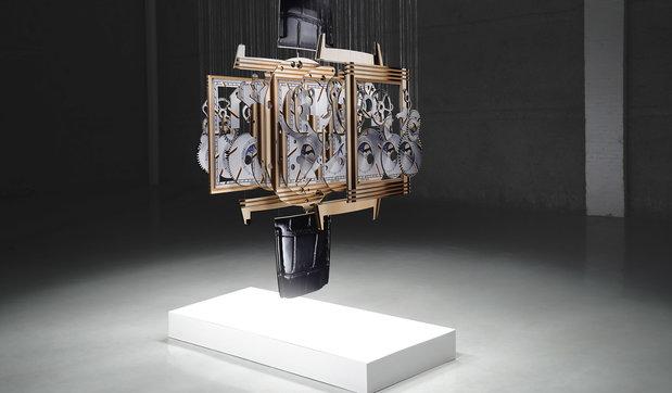 Spacetime, l'installazione di Michael Murphy che svela una nuova simbiositra spazio e tempo
