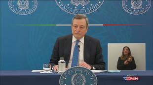 Draghi: lo scostamento di bilancio è di 40 miliardi