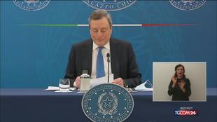 Draghi: ho stima di Speranza, l'ho scelto io