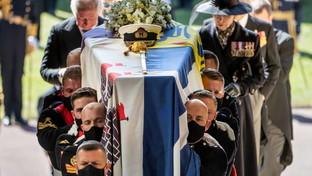A Windsor il funerale del principe Filippo: l'ultimo saluto della famiglia reale al duca di Edimburgo