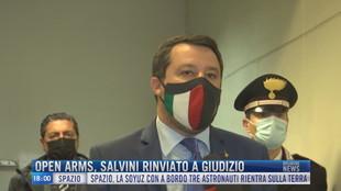 Breaking News delle 18.00 | Open Arms, Salvini rinviato a giudizio