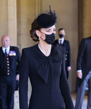 L'omaggio di Kateai reali: al collo della duchessale perle che furono di Diana