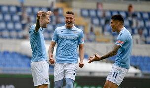 Pokerissimo al Benevento, la Lazio non molla la corsa Champions