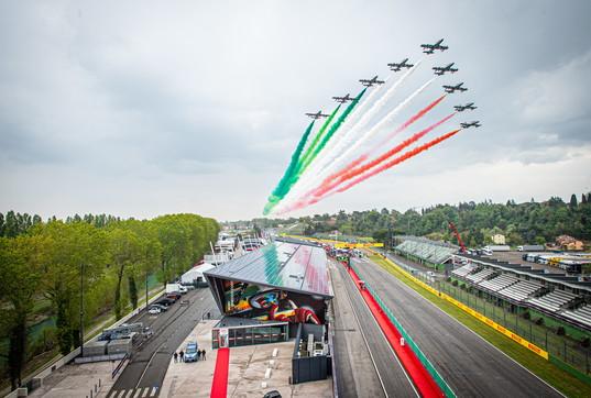 Formula 1, le Frecce Tricolori volano sul GP del Made in Italy e dell'Emilia-Romagna
