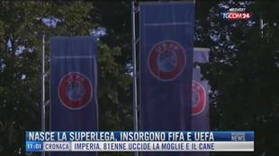Breaking News delle 11.00 | Nasce la Superlega, insorgono Fifa e Uefa