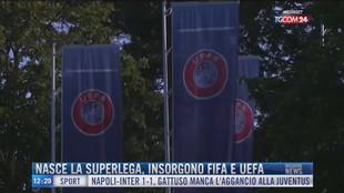 Breaking News delle 12.00 | Nasce la Superlega, insorgono Fifa e Uefa