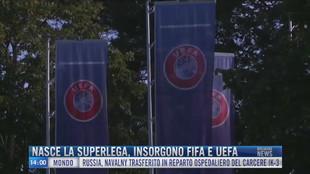 Breaking News delle 14.00 | Nasce la Superlega, insorgono Fifa e Uefa